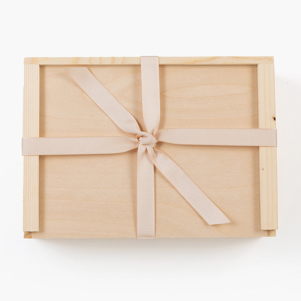 Girl Blush Wood Gift Box