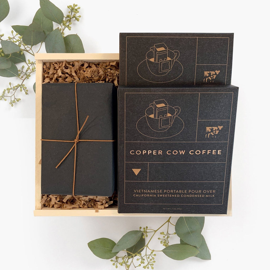 Coffee Cookie Gift Box