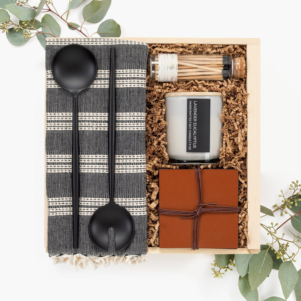 Housewarming Neutral gift box