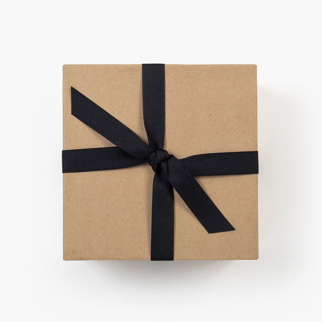 Kraft Gift Box with Ribbon