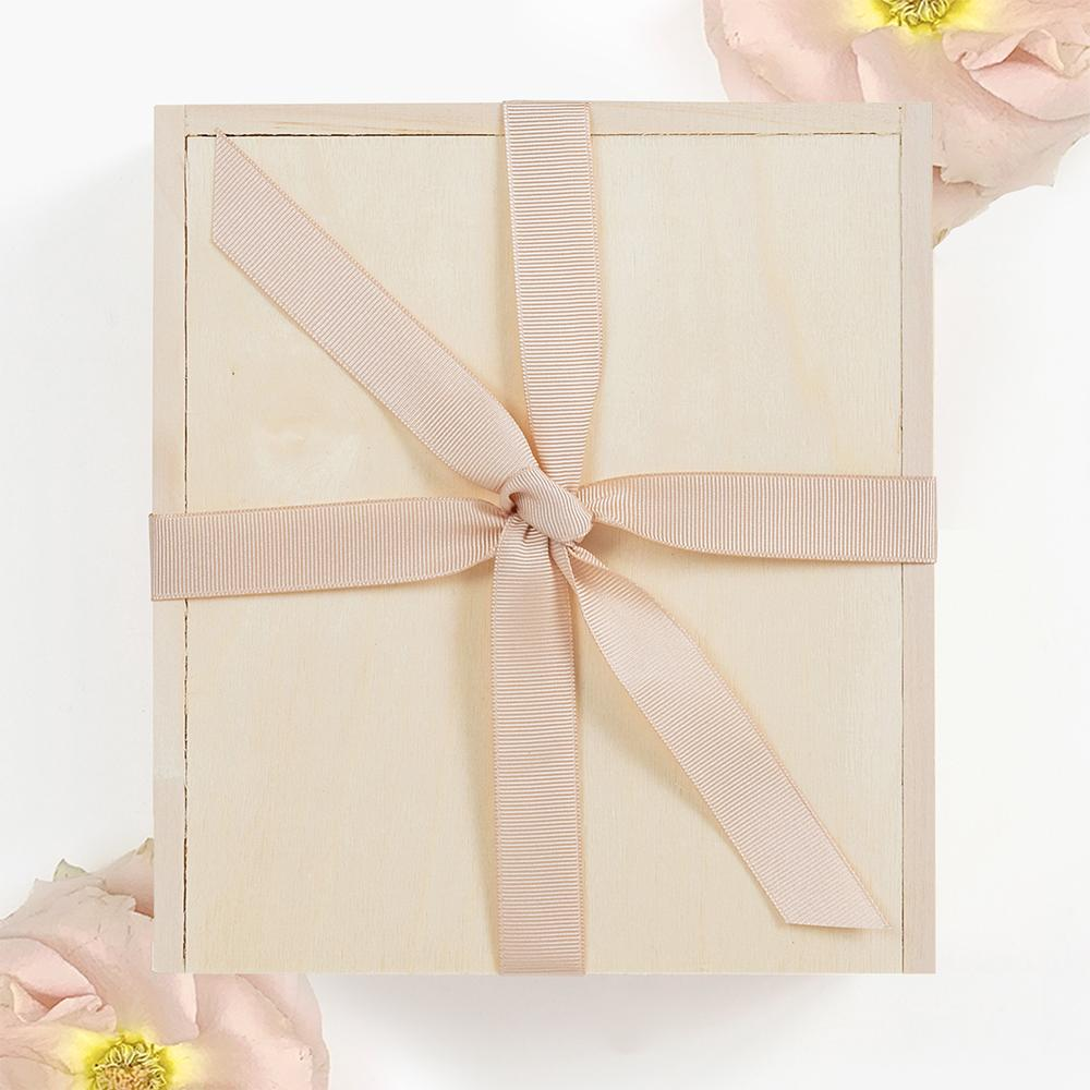 Blush Spa Treat Curated Gift Box. Pink