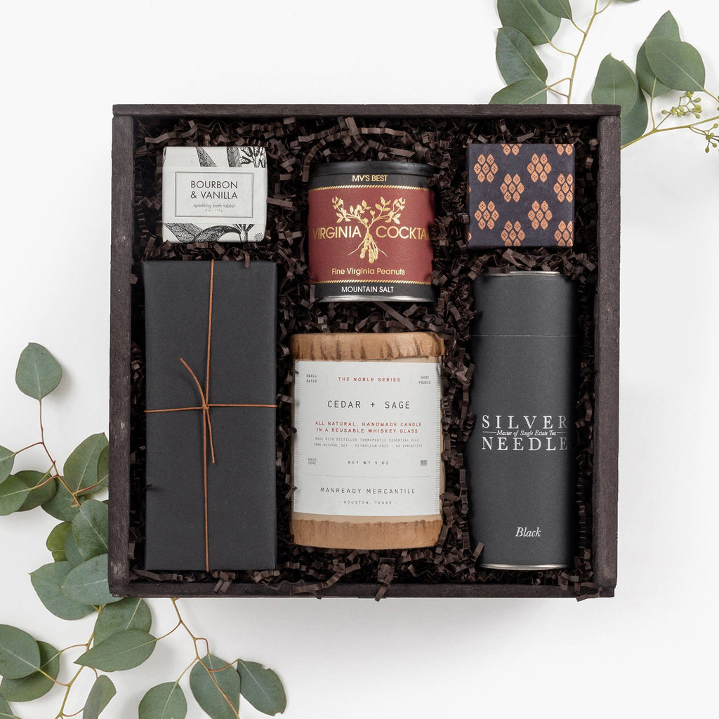 Relaxation for Him Curated Gift Box Loved and Found