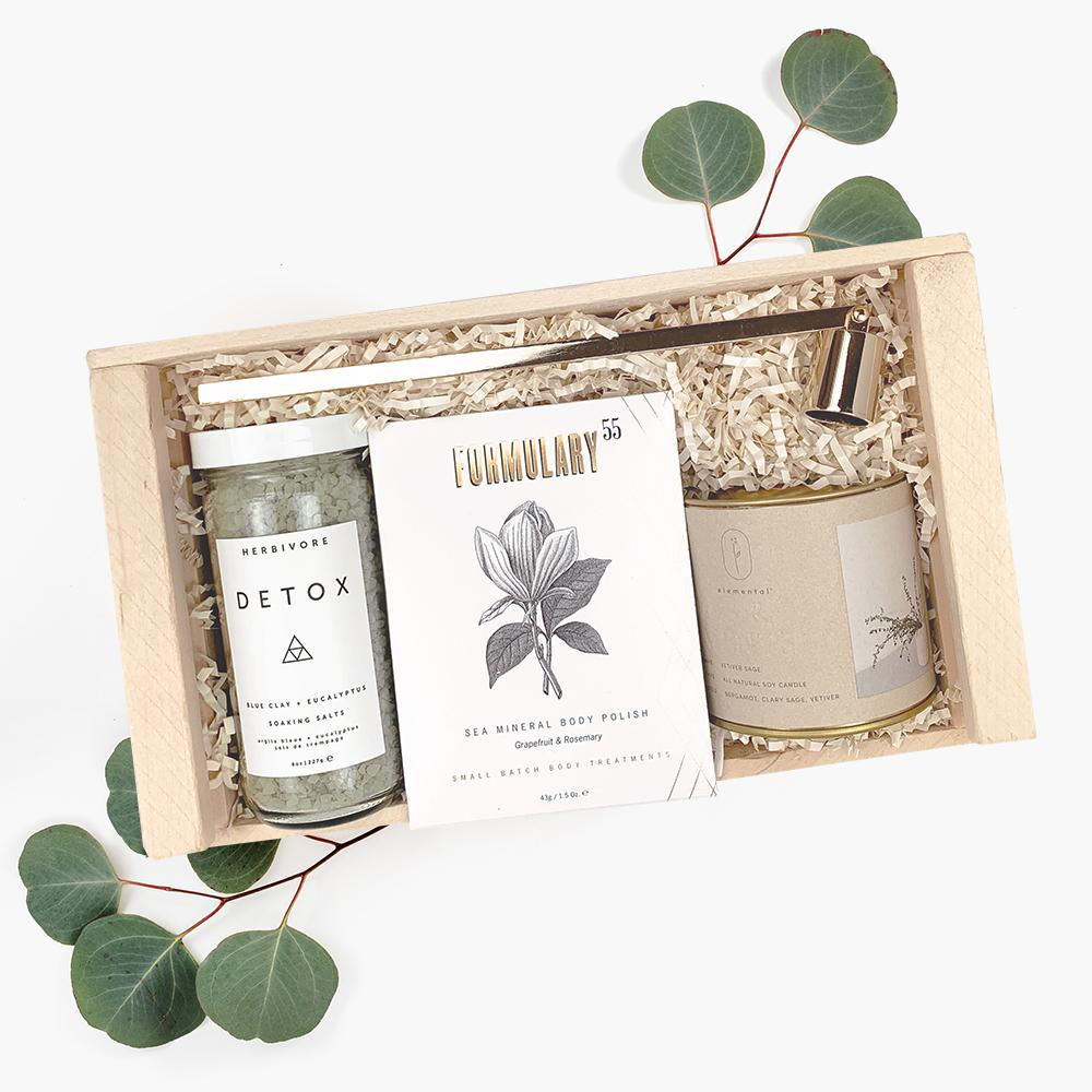 renewal detox spa gift box