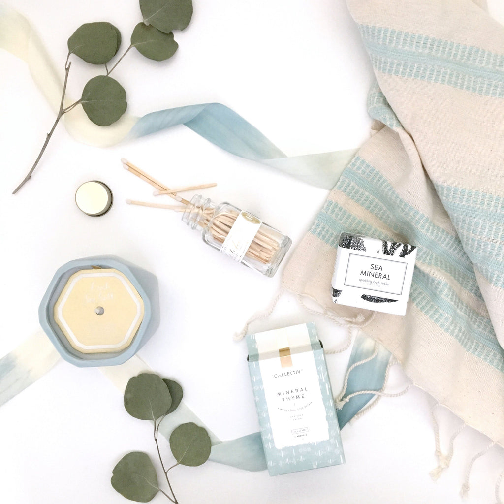 Loved and Found Seaside Spa Curated Gift Box