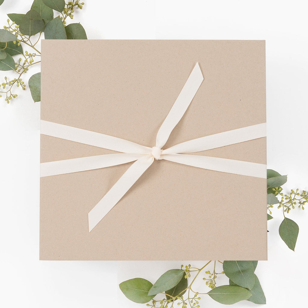 Rigid Kraft Brown Gift Box