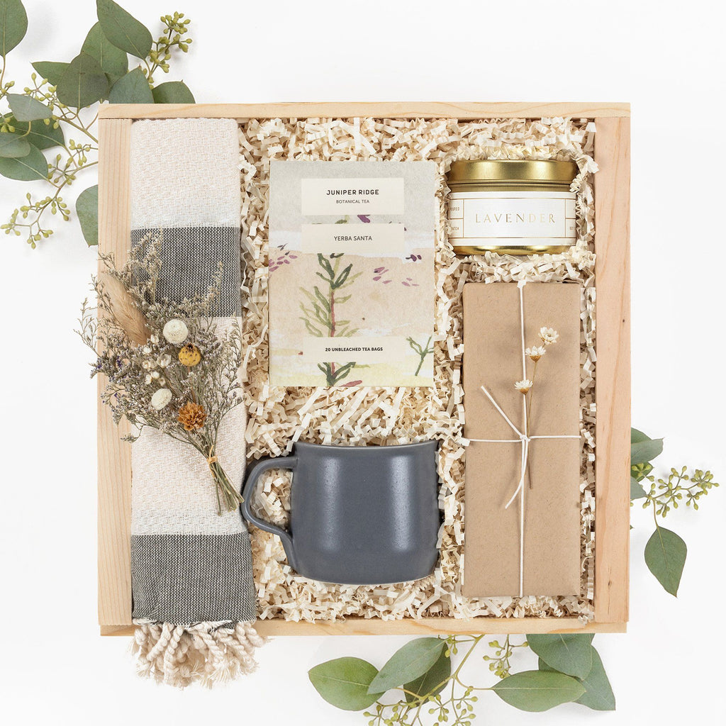 Spa Tea Gift Box With Mug