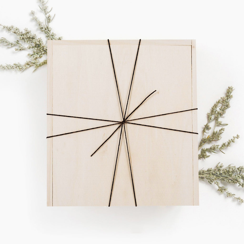 Wooden Gift Box Twine