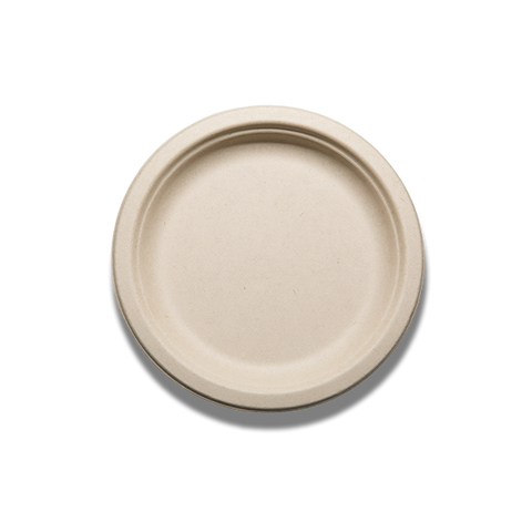 "Tranlin 7"" Compostable / Biodegradable Plates"