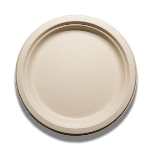 "Tranlin 9"" Compostable / Biodegradable Plates"