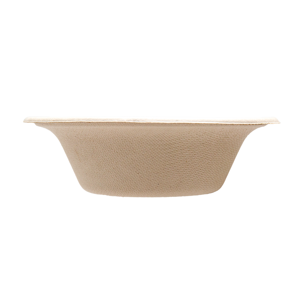 Case of 11.5 oz Compostable / Biodegradable Bowls - 200 per case (Tranlin-branded)