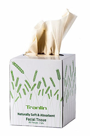 Tranlin Naturally Responsible Facial Tissues