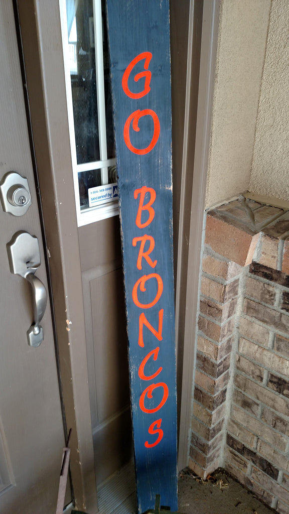 Broncos Sign for your Front Porch