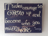 EE Cummings Quote Sign - LadybugJellybean - 4