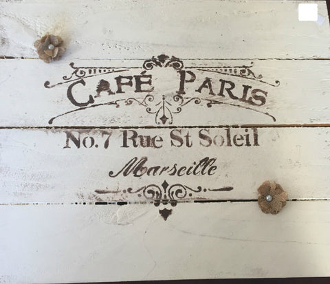 Cafe Paris sign - LadybugJellybean - 1