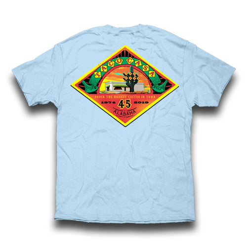 Taco Casa 45th Anniversary T-shirt - Chambray