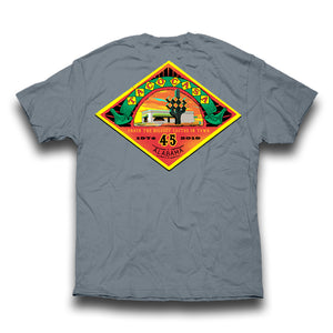 Taco Casa 45th Anniversary T-shirt - Granite