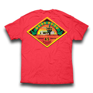 Taco Casa 45th Anniversary T-shirt - Watermelon