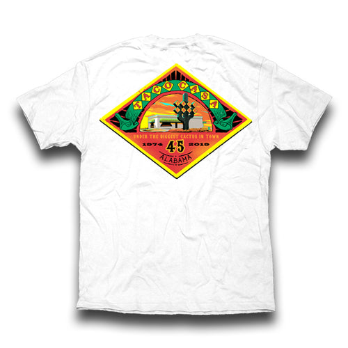 Taco Casa 45th Anniversary T-shirt - White