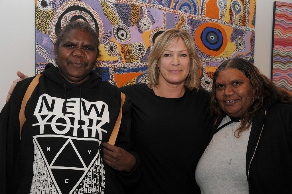 How are Aboriginal art works priced? How much money does the artist get?