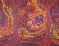 Aboriginal art paintings