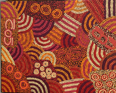Aboriginal painting by Adriana Nangala Egan