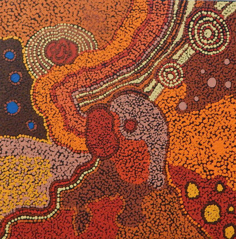 Aboriginal painting by Celina Tunkin