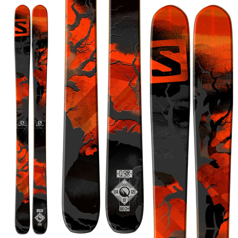 Salomon N Q-98 Skis 2015 - Men's /Black/Red/