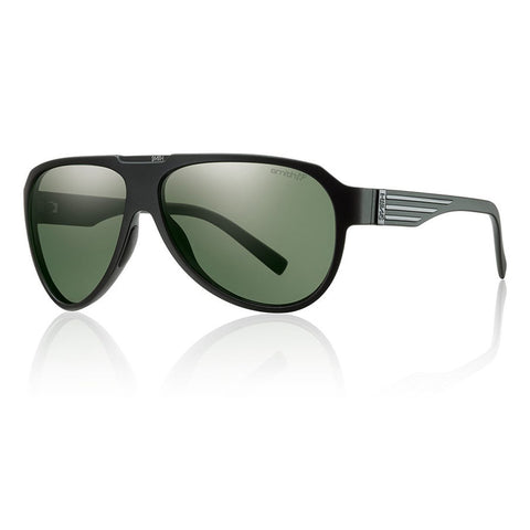 Smith Optics Soundcheck Sunglasses Polarized - Men's /Matte Black/Polar Gray/