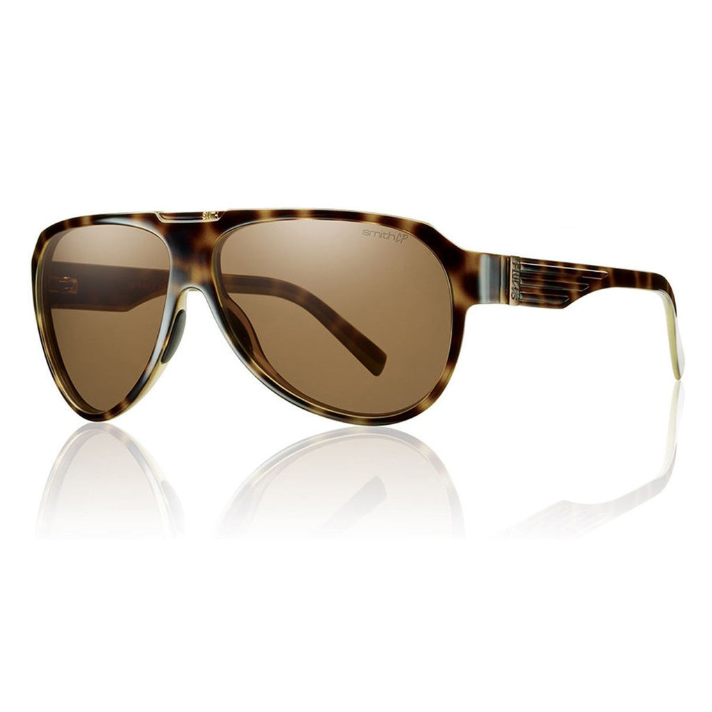 Smith Optics Soundcheck Sunglasses Polarized - Men's /Tortoise/Polar Brown/