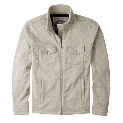 Mountain Khakis Old Faithful Sweater Jacket - Men's /Oatmeal/