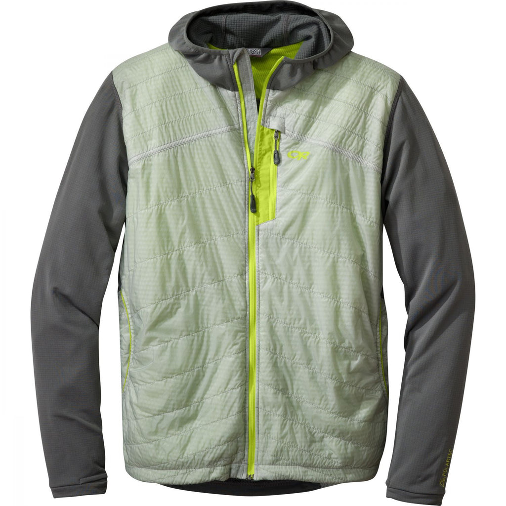 Outdoor Research Deviator Hoody - Men's - Alloy / Pewter