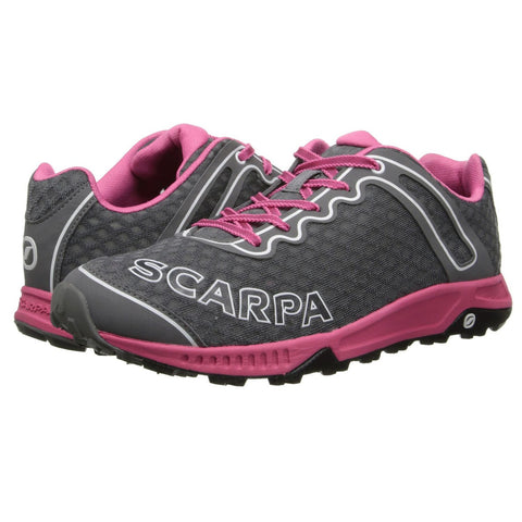 Scarpa Tru Trail Running Shoe - Women's - Grey / Pink