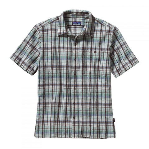 Patagonia Puckerware Shirt - Men's - Pratt: Pinecone Brown