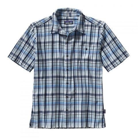 Patagonia Puckerware Shirt - Men's - Pratt: Navy Blue