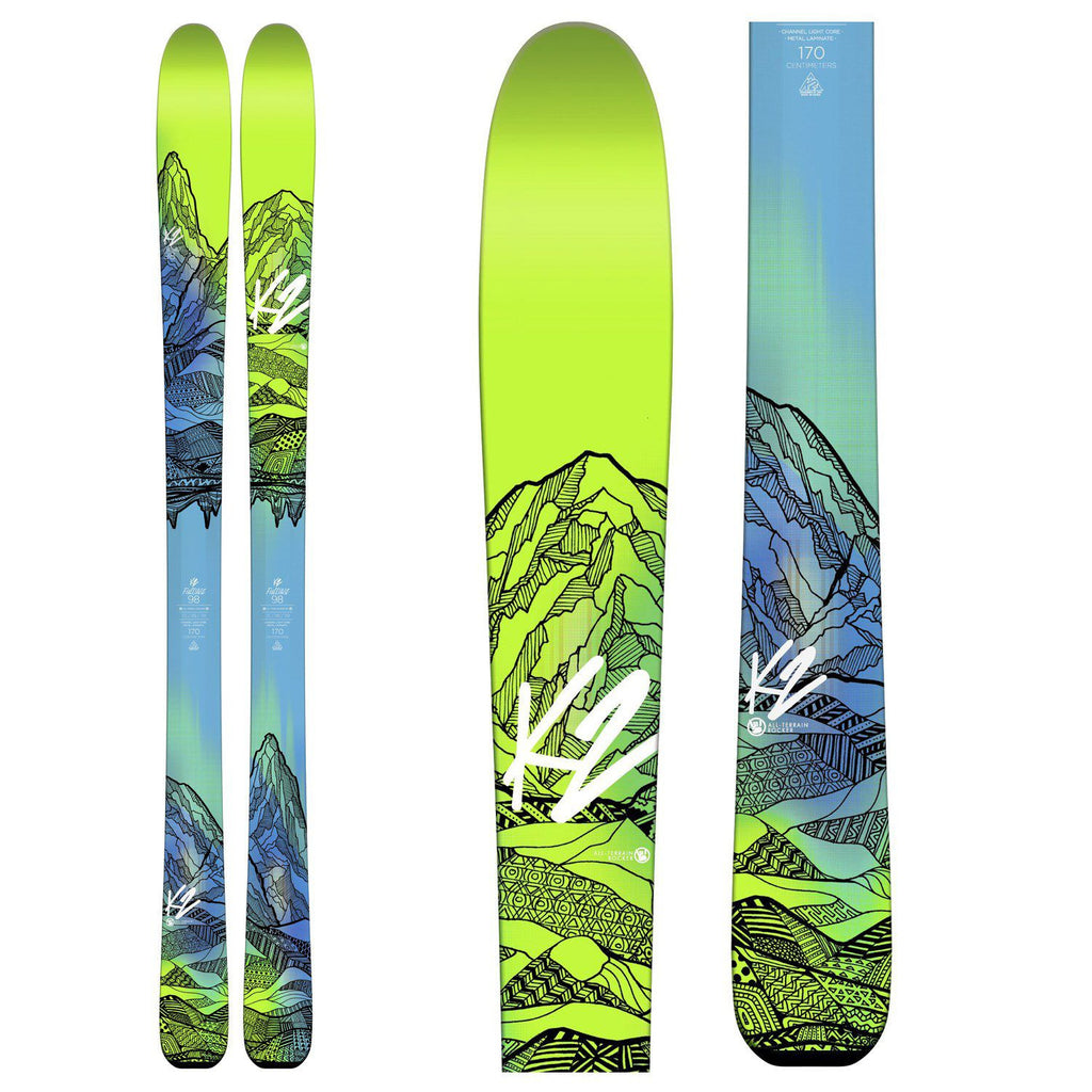K2 FulLUVit 98 Skis Women's - 2016