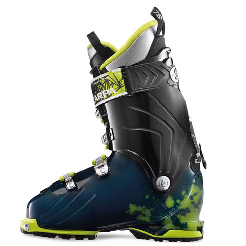 Scarpa Freedom SL Alpine Touring Boot - Men's /Ink Blue Lime/