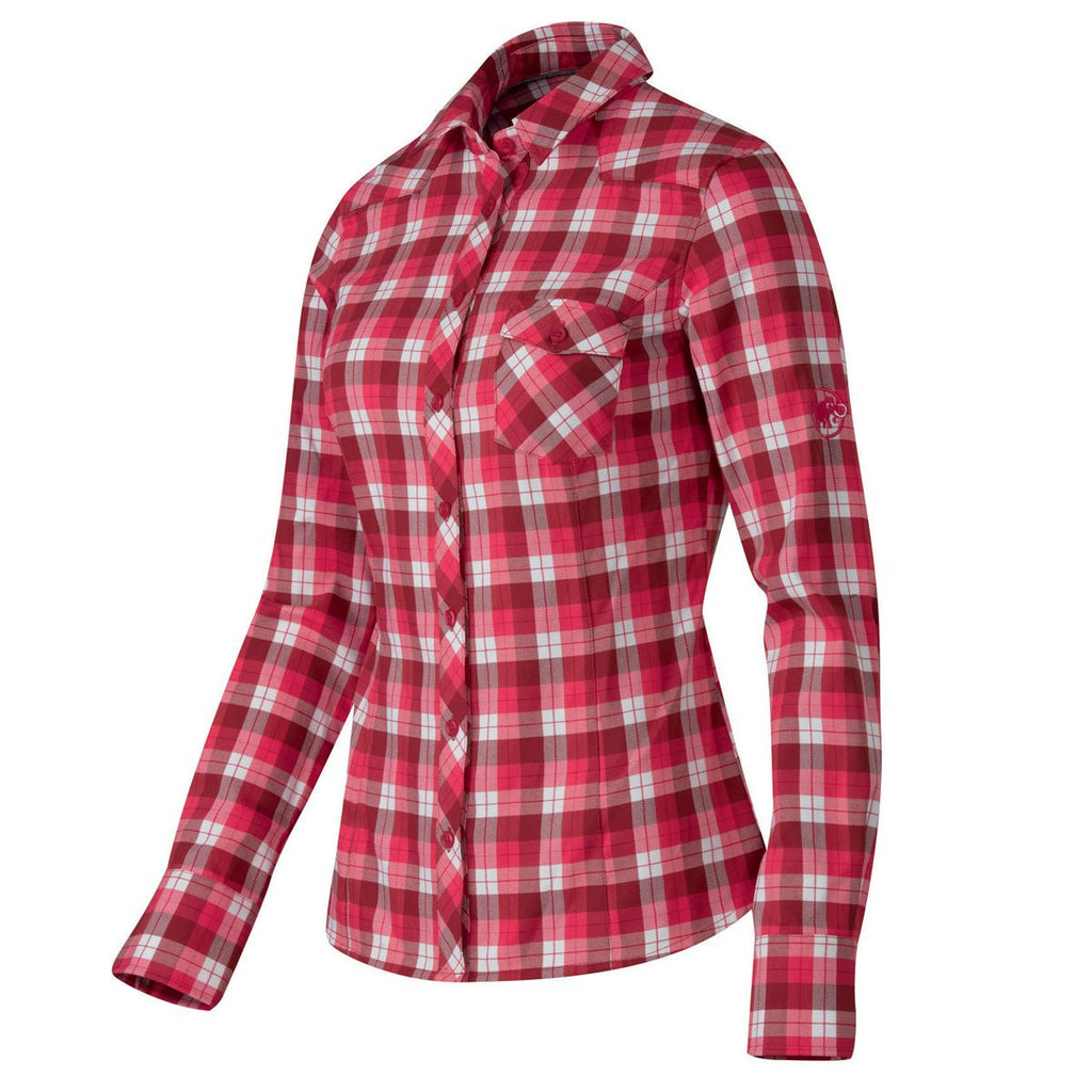 Mammut Bela Shirt - Women's /Carmine/Light Carmine/