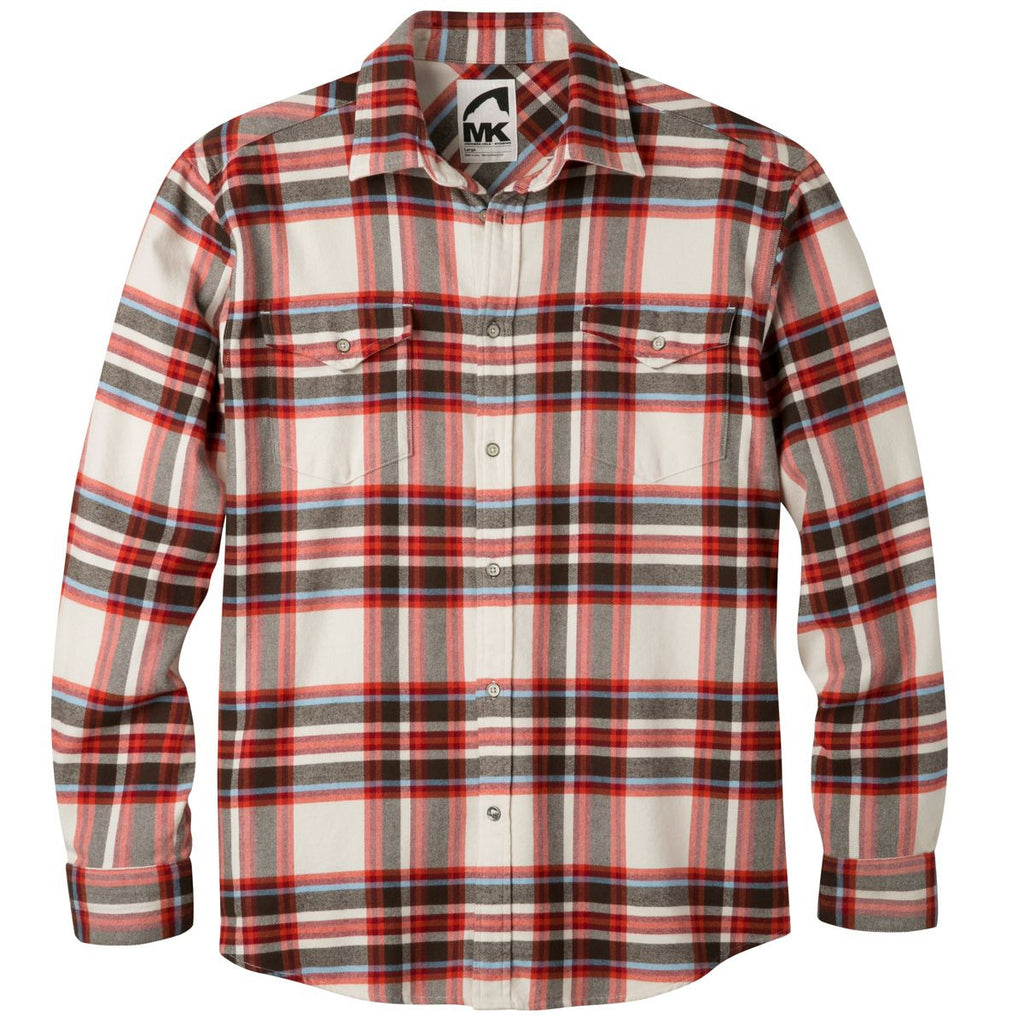 Mountain Khakis Teton Flannel Shirt - Men's /Cream/