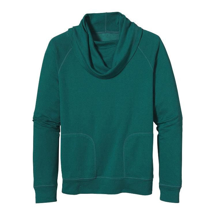 Patagonia Reverse Double Knit Pullover - Women's /High Peak - Arbor Green/
