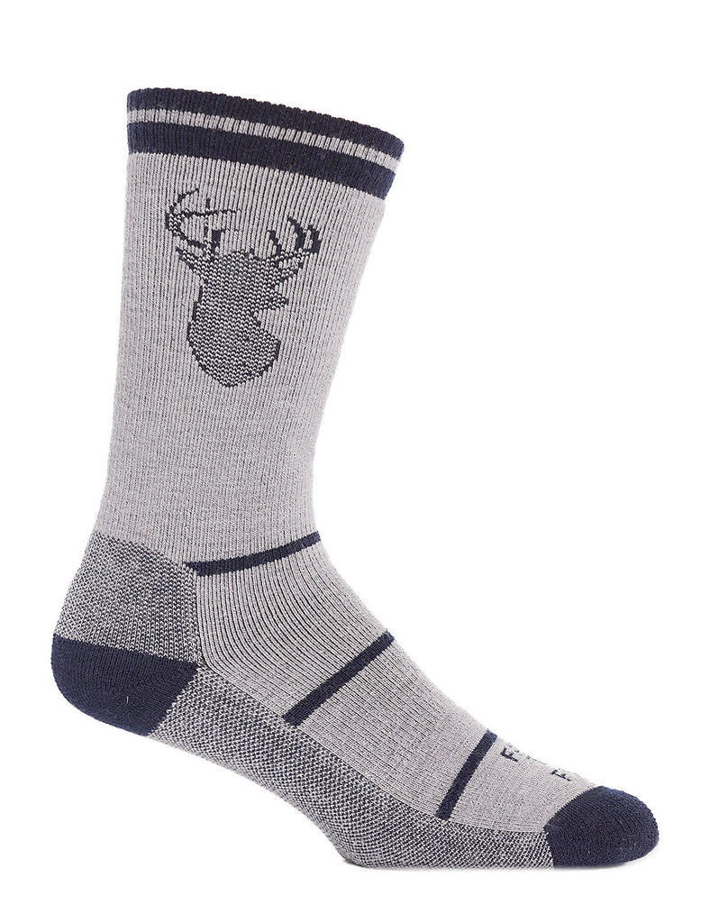 FARM TO FEET Englewood Stag Midweight Crew Sock