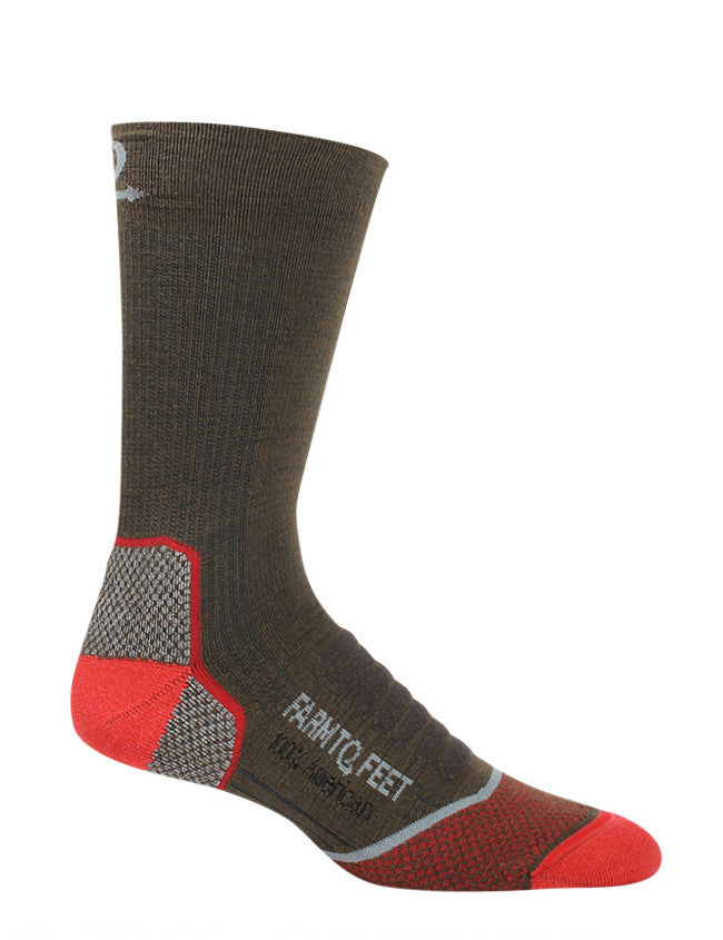 FARM TO FEET Damascus Lightweight Elite Hiker Crew Sock