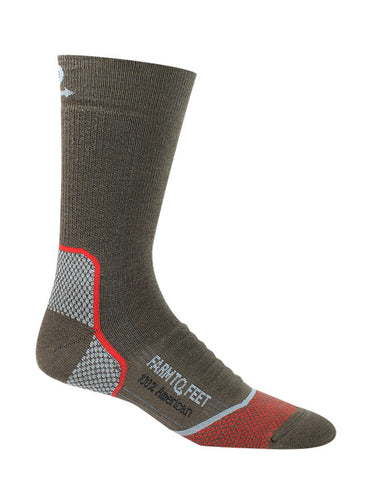 FARM TO FEET Damascus Crew Midweight Elite Hiker Sock