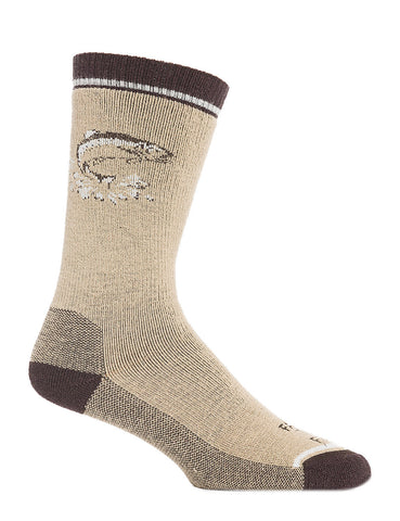 FARM TO FEET Concord Fish Midweight Crew Sock