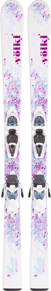 VOLKL Chica Girls Ski w/Marker 3Motion Jr. Bindings - 2016