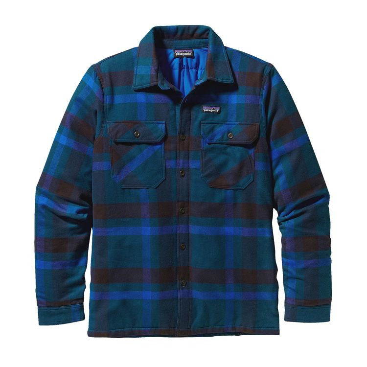 PATAGONIA Insulated Fjord Flannel Shirt - Men's