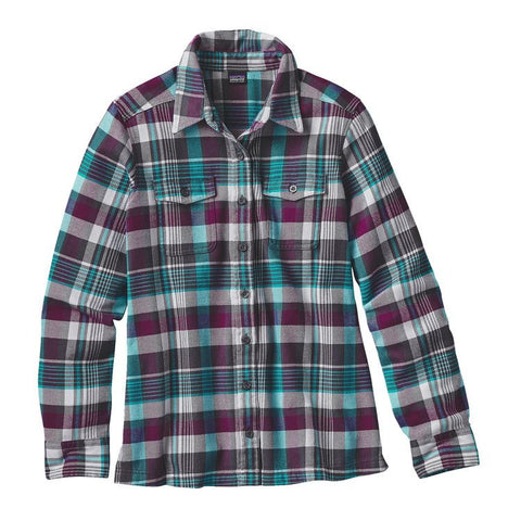 PATAGONIA Long- Sleeved Fjord Flannel Shirt - Women's