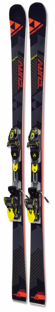 FISCHER RC4 The Curve Skis with Tyrolia Z13 Freeflex Bindings