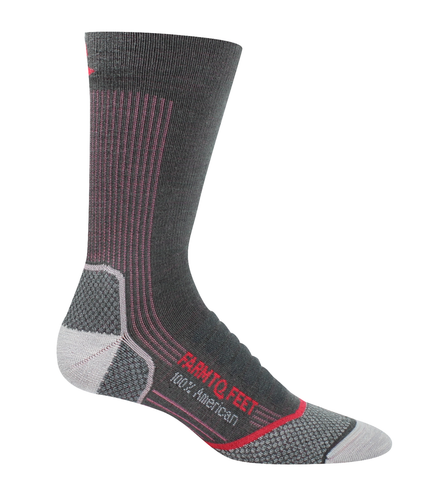FARM TO FEET Damascus Elite Lightweight Womens Crew Sock