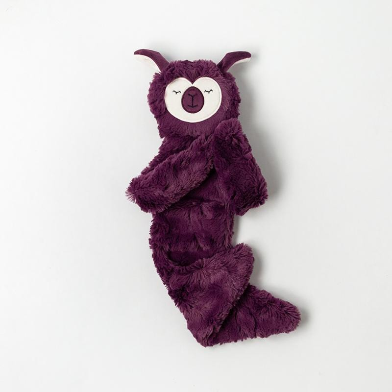 Amethyst Alpaca Snuggler Single