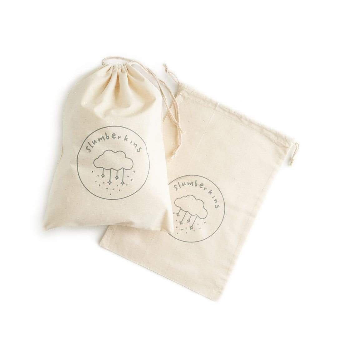 Drawstring gift bag for early emotional learning
